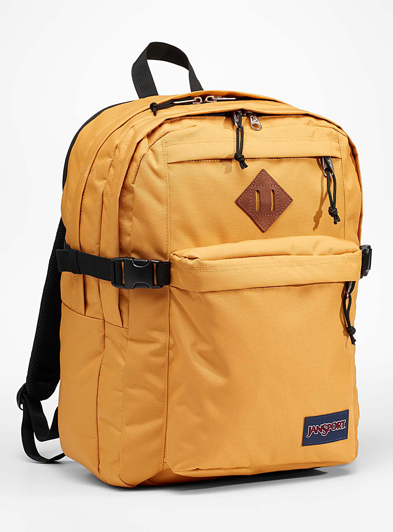 JanSport Golden Yellow Campus recycled backpack for women
