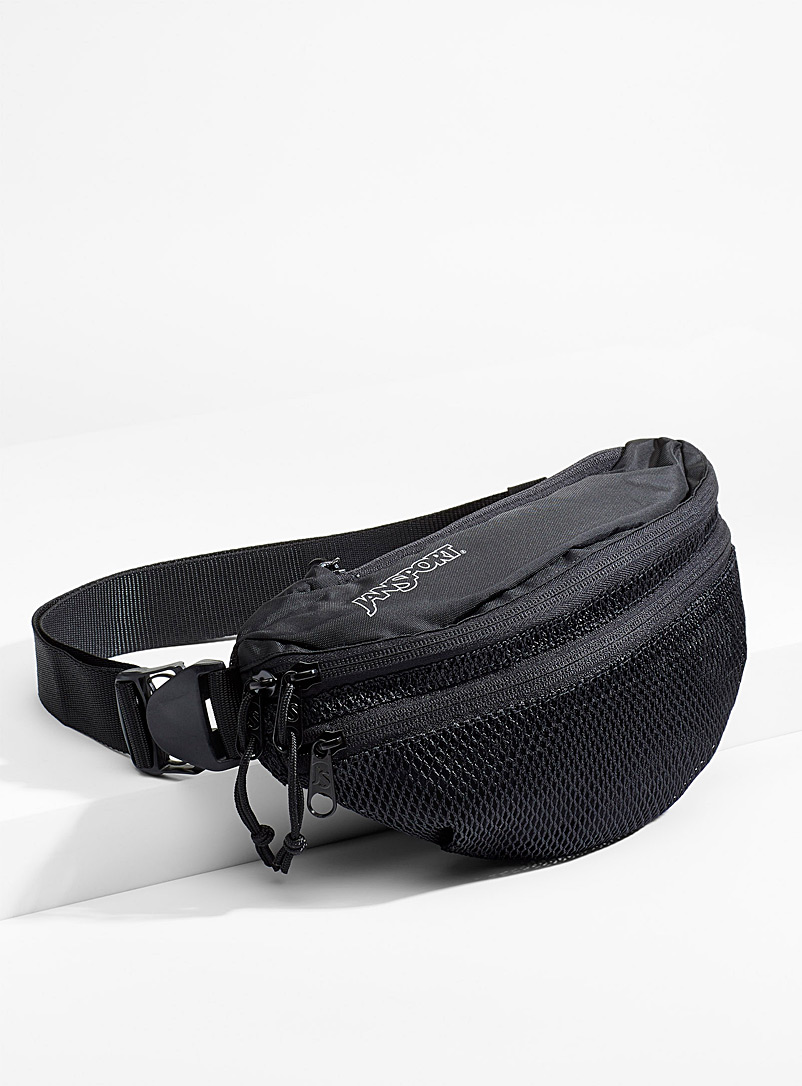 Mesh belt bag - Belt bags - Black