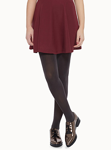 Luxurious velvety tights
