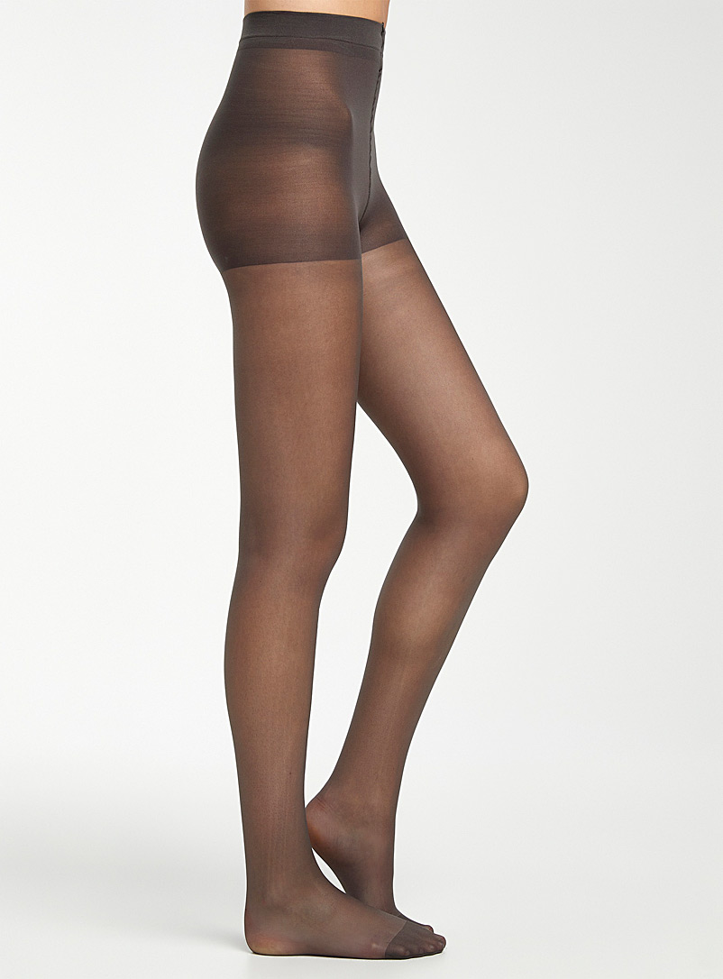 Simons Fawn Sofia sheer pantyhose with control panty for women