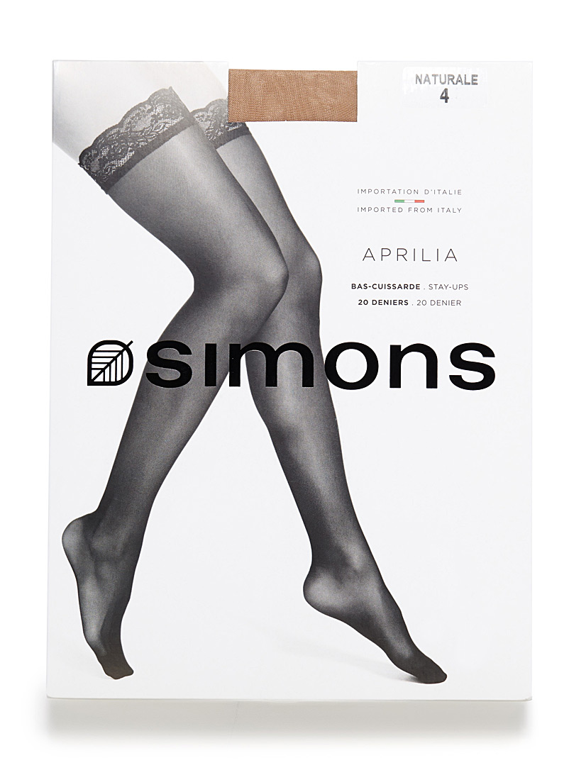 Simons Natural Aprilia stay-ups for women