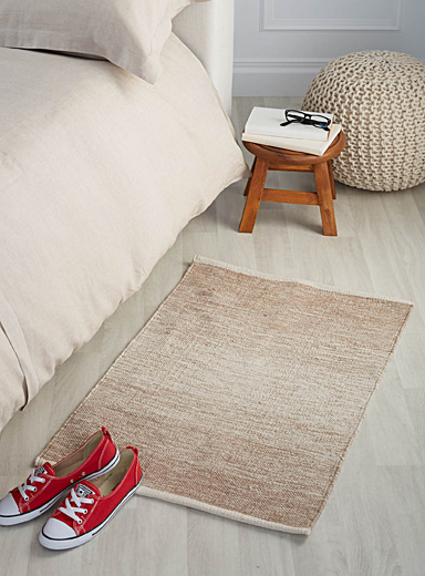 Natural ombré floor mat