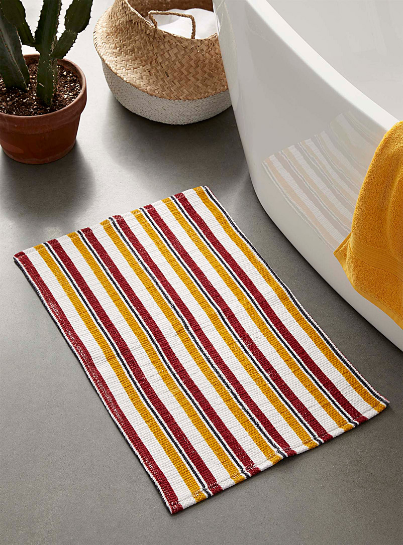 Simons Maison Assorted Spicy stripe bath mat  50 x 80 cm