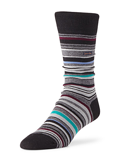 Series striped socks