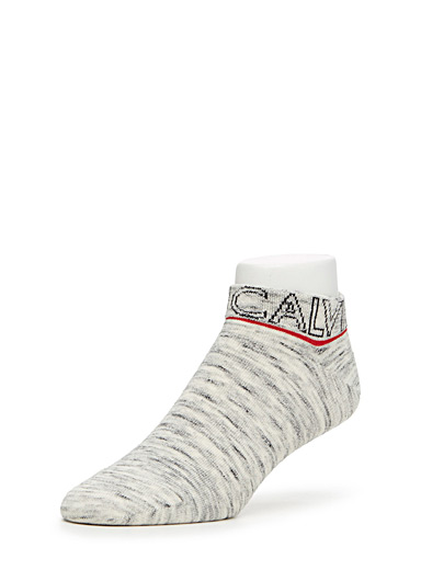 Logo ankle socks