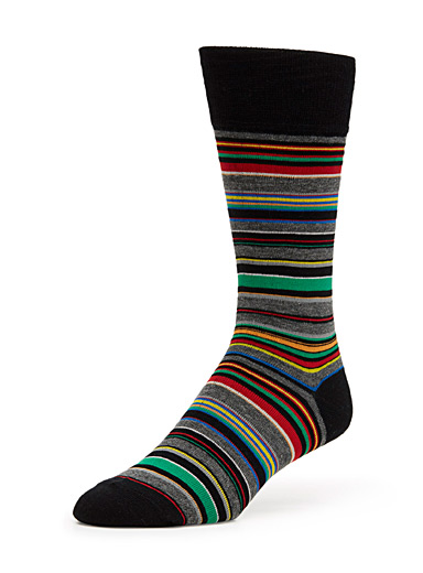Pop stripe sock