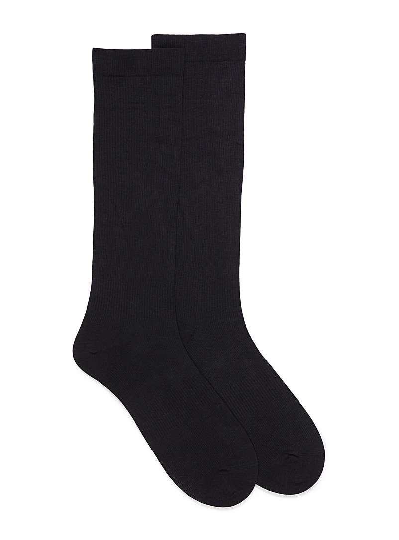 McGregor Black Compression socks for men