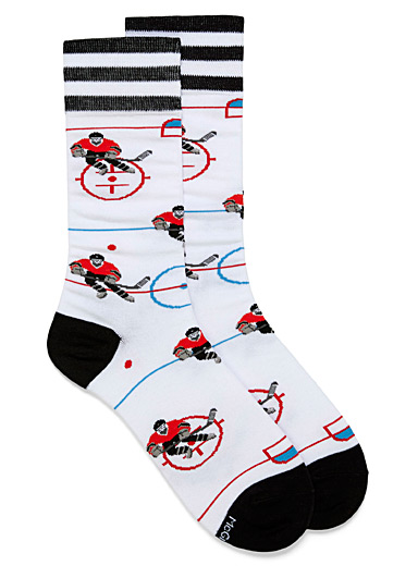 Ice hockey socks