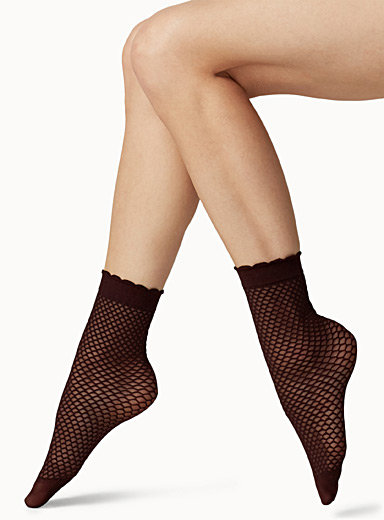 Peek-a-boo stockings  Set of 2