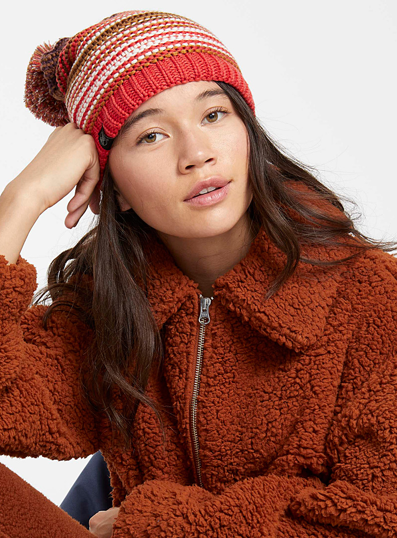 Neper tuque - Tuques & Berets - Patterned Orange
