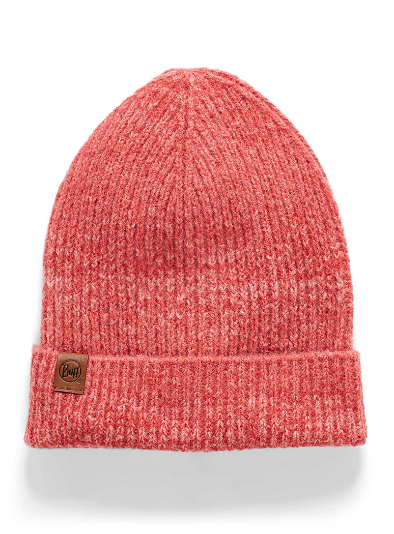 Buff Pink Ombré knit tuque for women