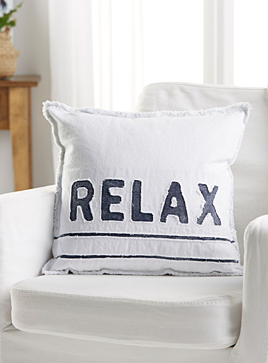 Relax denim cushion <br>17