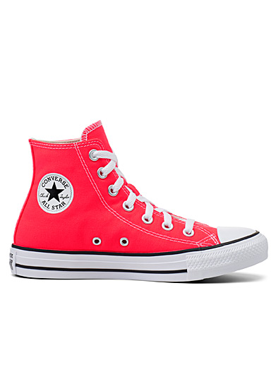 Chuck Taylor All Star High Top neon sneakers <br>Women