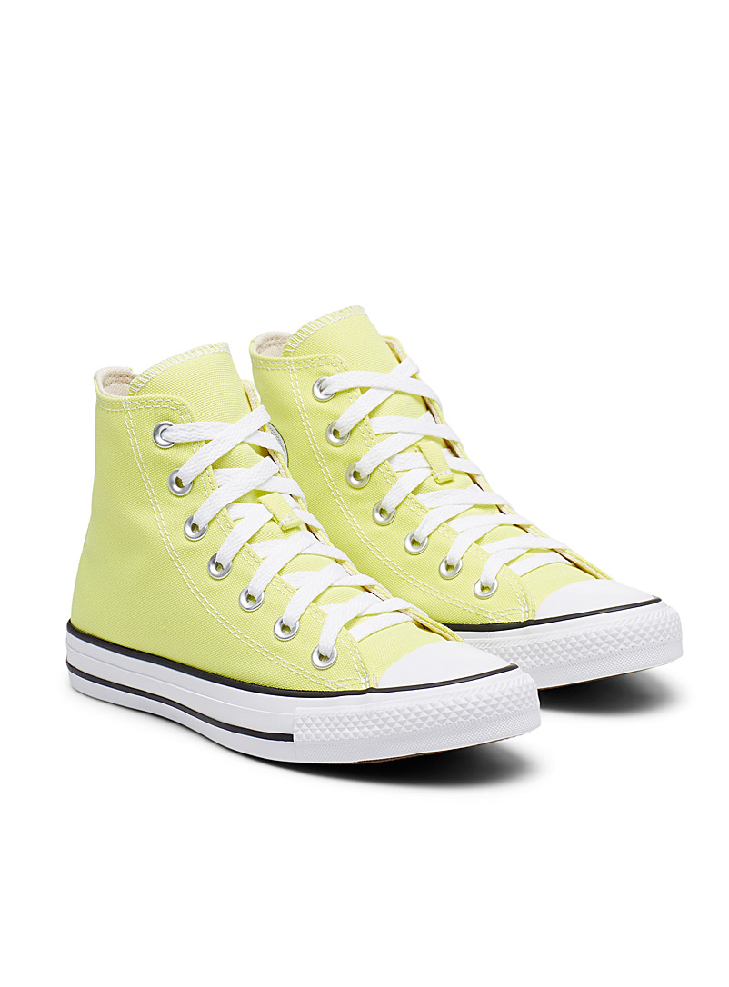 Converse Golden Yellow Buttery yellow Chuck Taylor All Star High Top sneakers Women for women