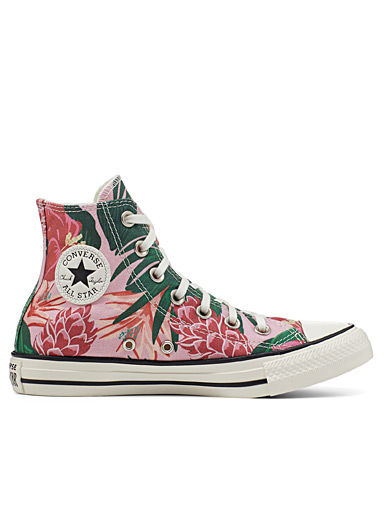 Chuck Taylor All Star Jungle Scene pink sneakers Women