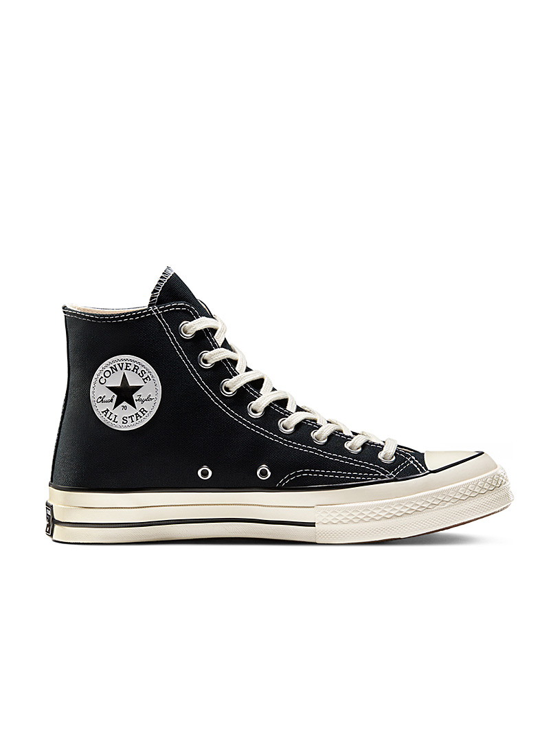 Black Chuck 70 Canvas High Top sneakers  Men