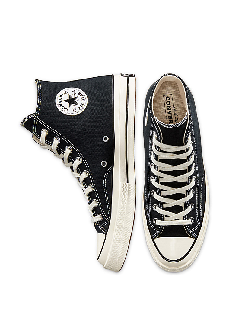 Converse Black and White Chuck 70 High Top black sneakers Men for men
