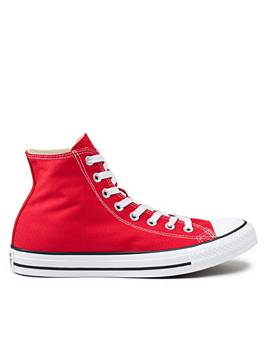 Red Chuck Taylor All Star High Top sneakers <br>Men