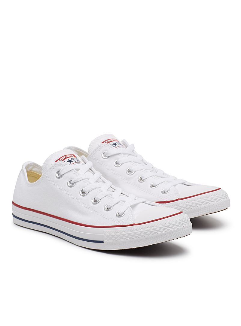 Chuck Taylor All Star Low Top white sneakers  Men - Sneakers - White
