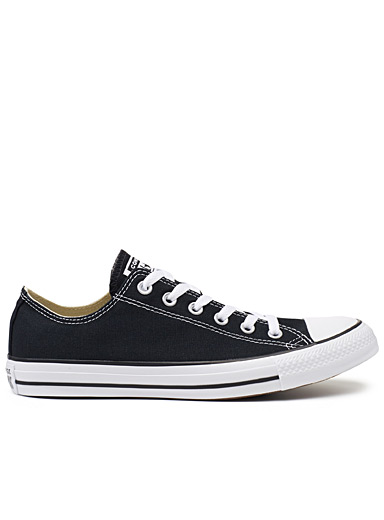 Black Chuck Taylor All Star Low Top sneakers <br>Men