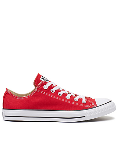 Red Chuck Taylor All Star Low Top sneakers <br>Men