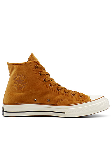 Le sneaker Chuck 70 High Top velours <br>Homme