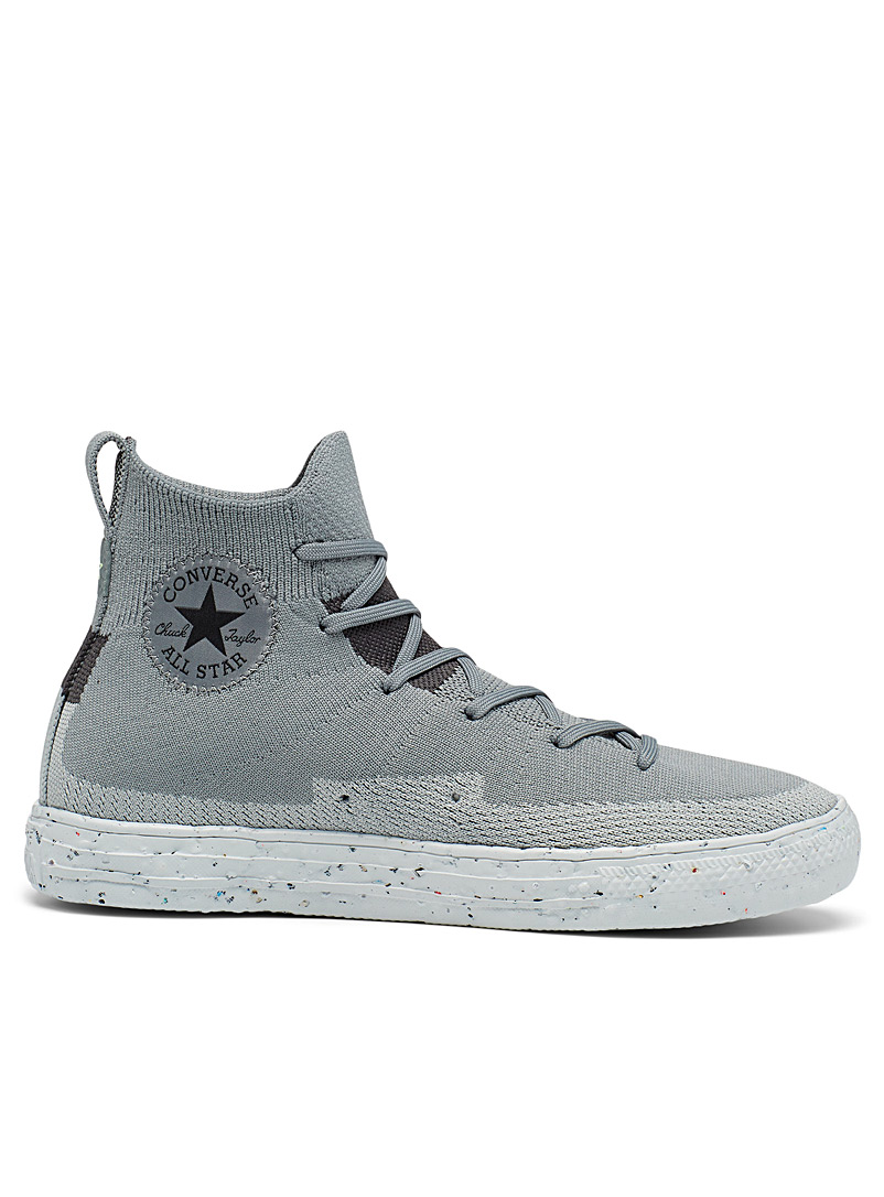 Converse Grey Renew Chuck Taylor All Star Crater Knit sneakers Men for men