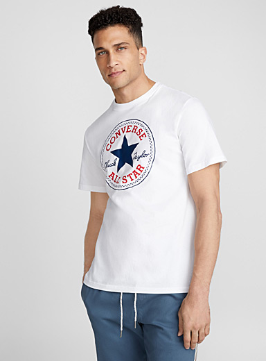 Converse White Classic Chuck Taylor T-shirt for men