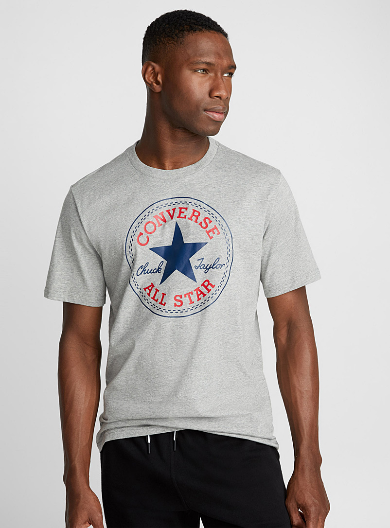 Converse Grey Classic Chuck Taylor T-shirt for men