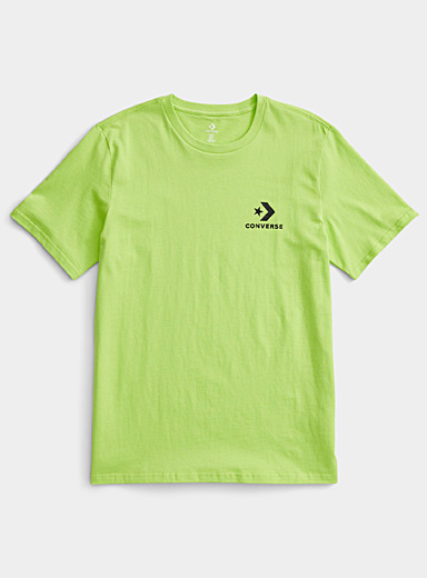 Converse Kelly Green Minimalist logo T-shirt for men