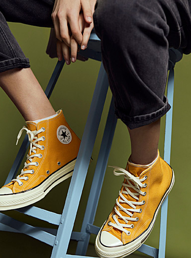Converse Medium Yellow Chuck 70 High Top sneakers  Women for women