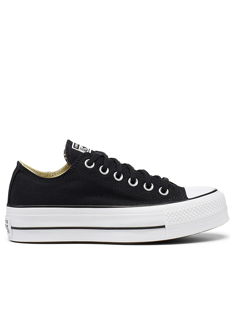 Converse Black Chuck Taylor All Star Lift Ox platform sneakers  Women for women