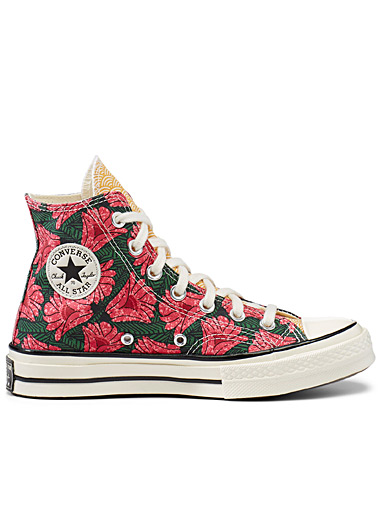 Culture Weave Chuck 70 High Top printed sneakers <br>Women