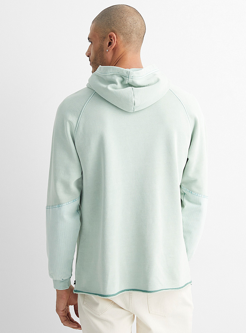 Converse Blue Faded sage hoodie for men