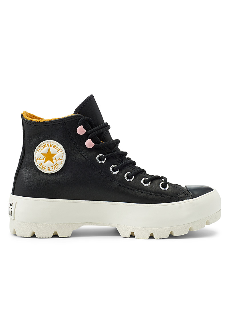 Converse Black Chuck Taylor All Star Lugged Winter Hi sneakers Women for women