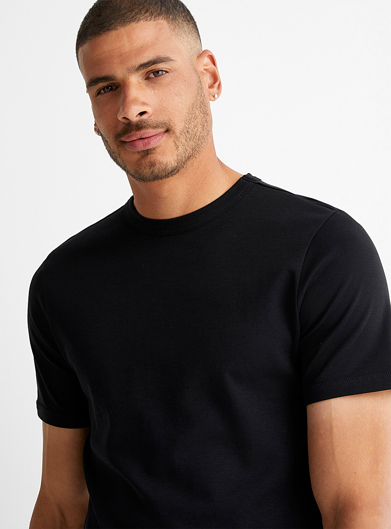 Le 31 White Chic jersey T-shirt for men