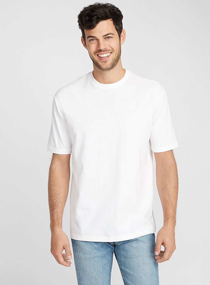 Pima cotton T-shirt - Short sleeves & 3/4 sleeves - White