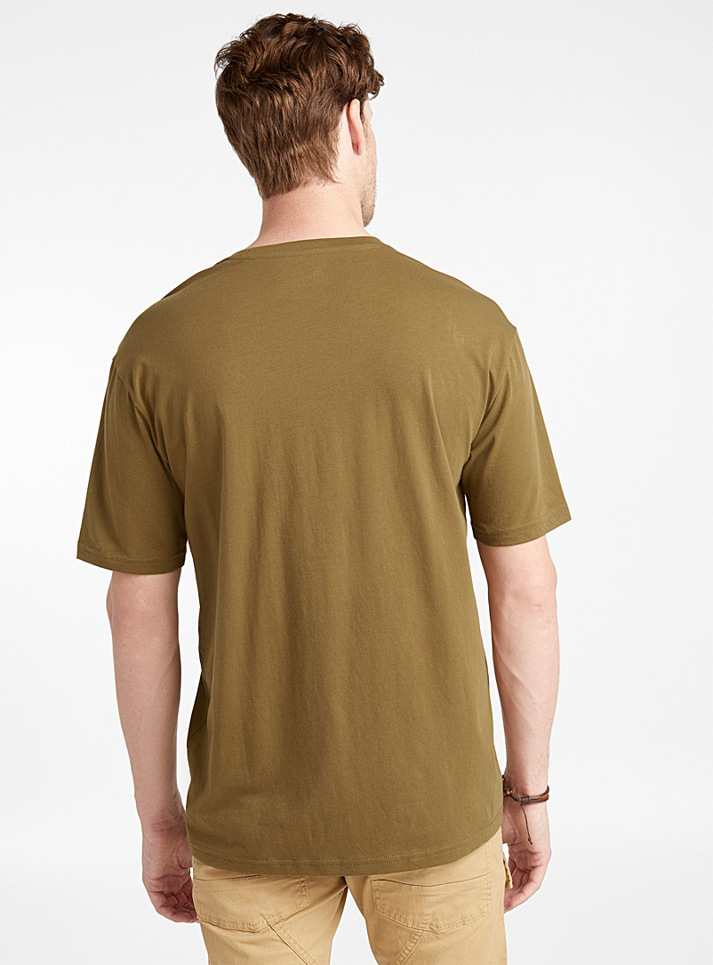 Pima cotton T-shirt - Short sleeves & 3/4 sleeves - Bottle Green