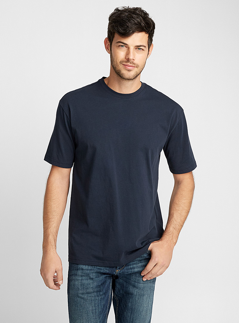 Pima cotton T-shirt - Short sleeves & 3/4 sleeves - Blue