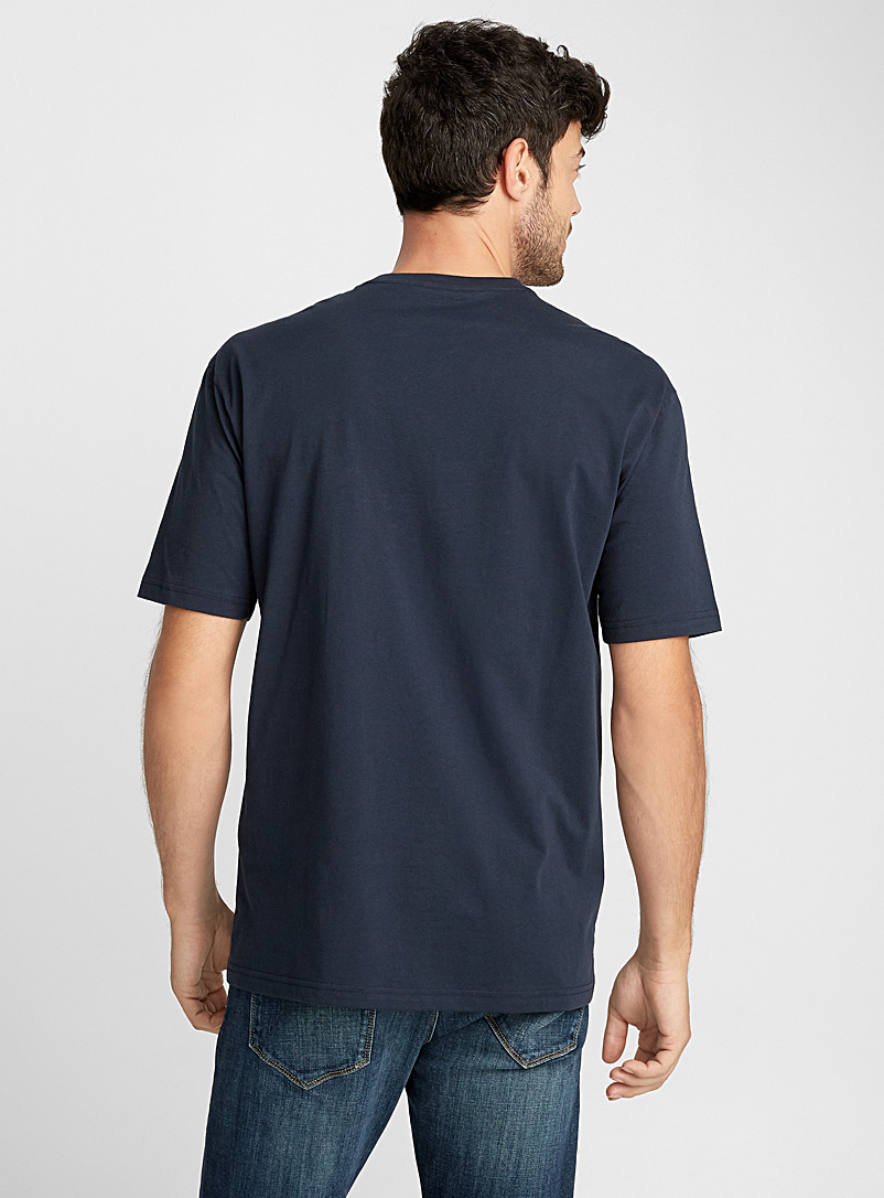 Pima cotton T-shirt - Basics - Blue