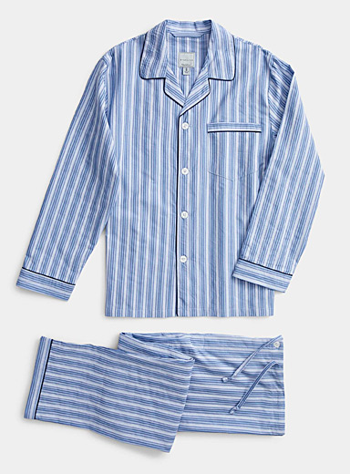 L'ensemble pyjama rayures chambray