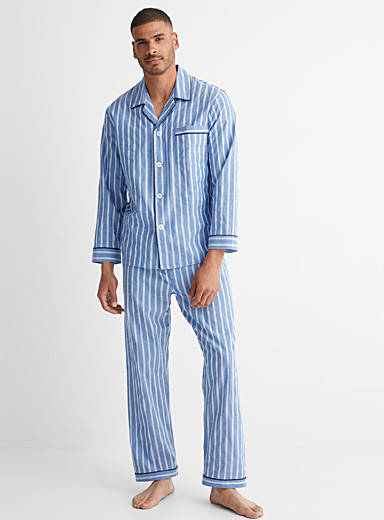 Dobby stripe pyjama set