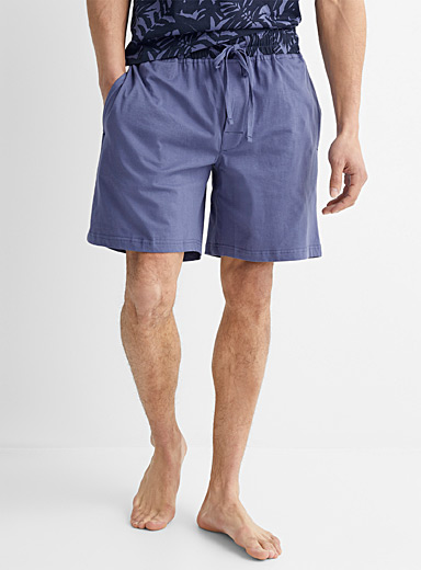 Midnight blue lounge Bermudas