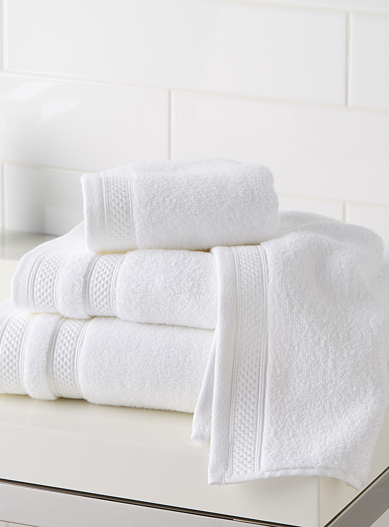Cotton and modal towels