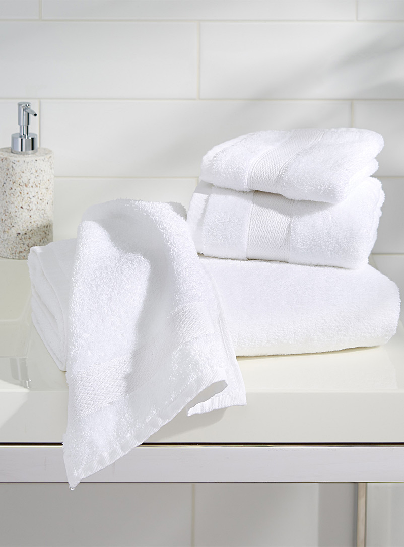 Egyptian cotton towels - Solid - White