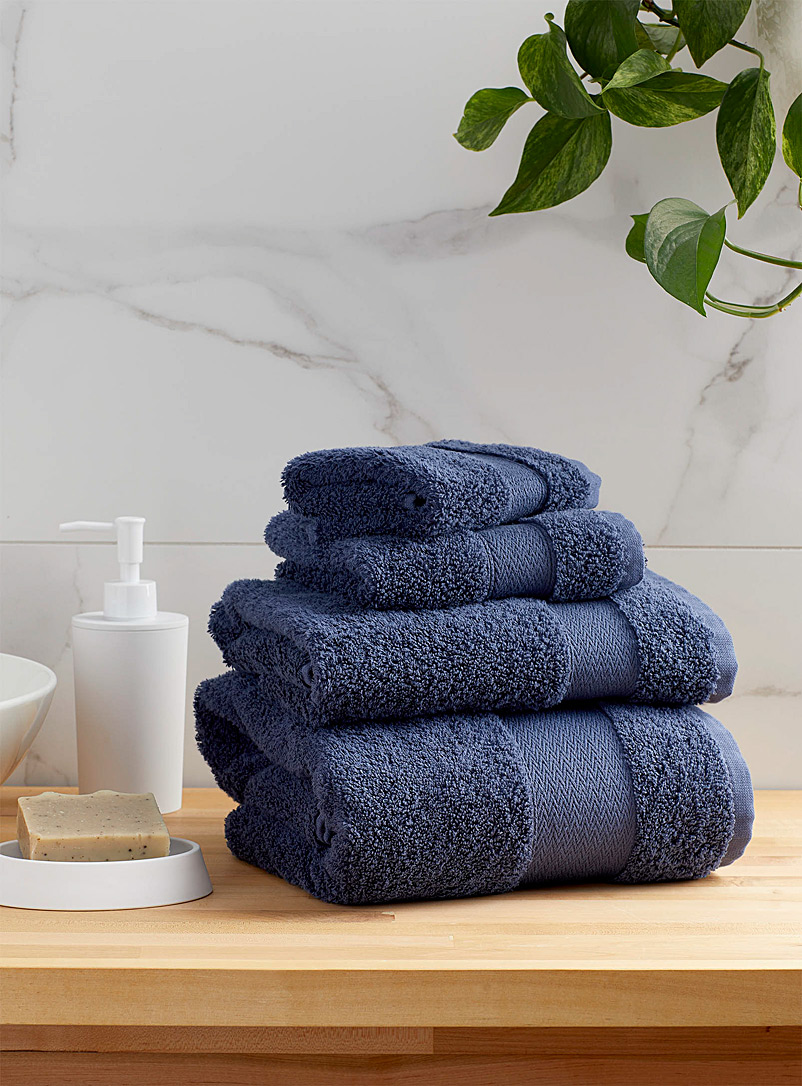 Simons Maison White Egyptian cotton towels
