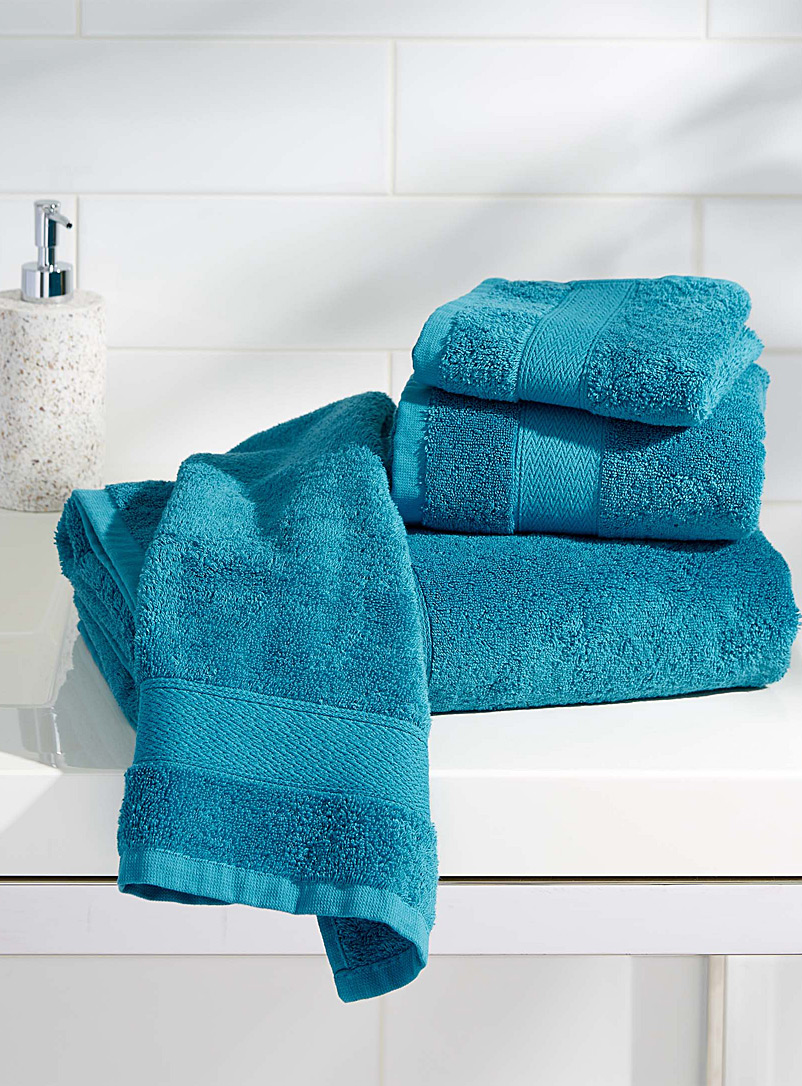 Egyptian cotton towels - Solid - Slate Blue