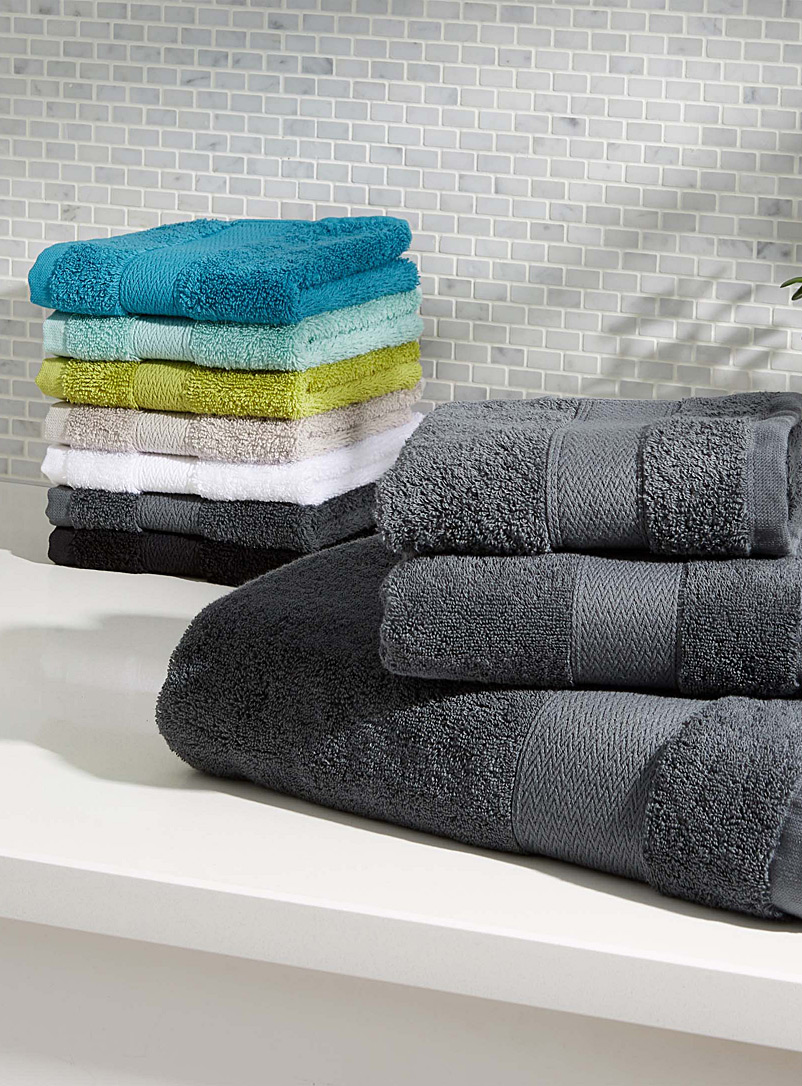 Egyptian cotton towels - Superior Quality - Dark Grey