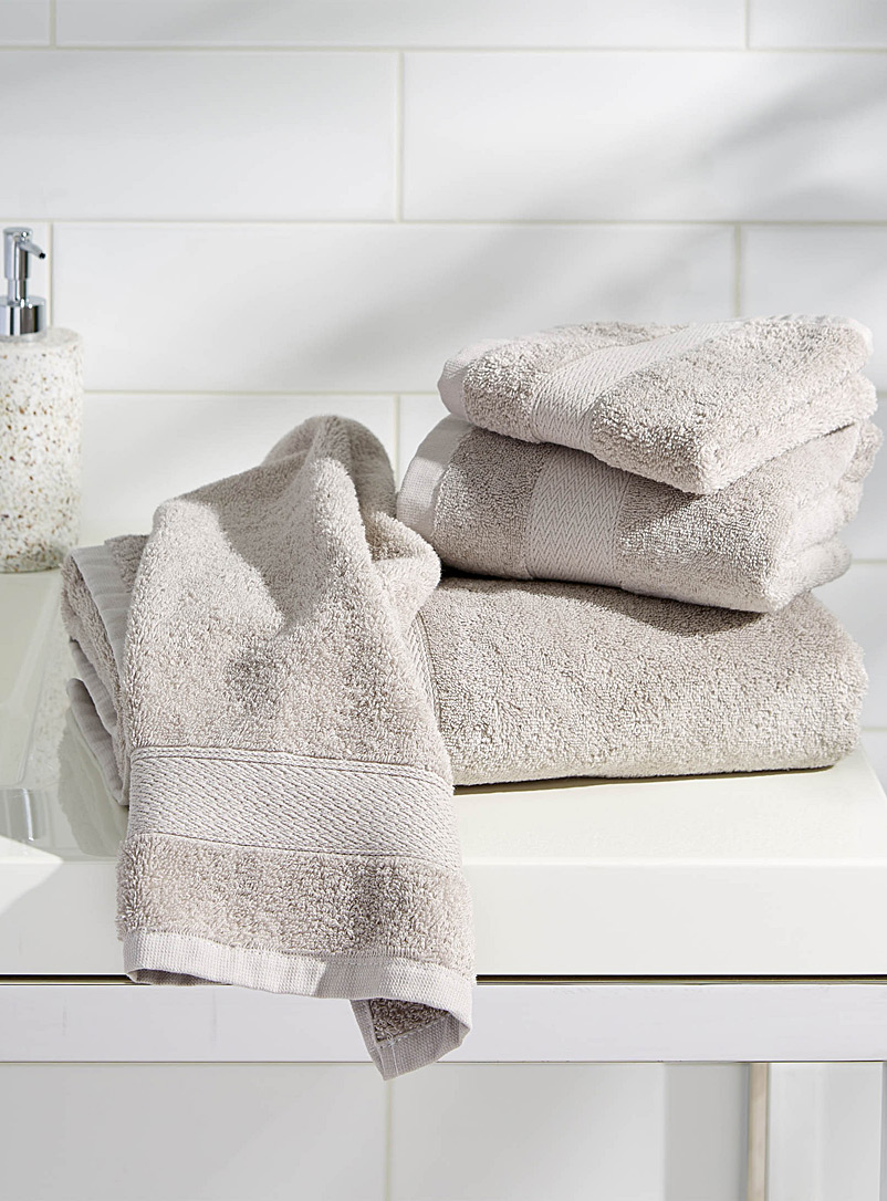 Egyptian cotton towels - Superior Quality - Silver