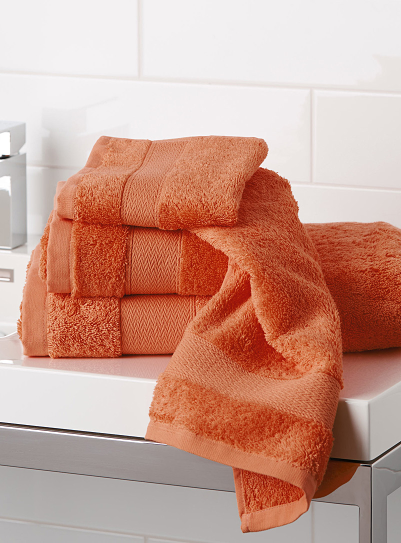 Egyptian cotton towels - Superior Quality - Orange